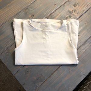 Calvin Klein Performance White Top Size XS